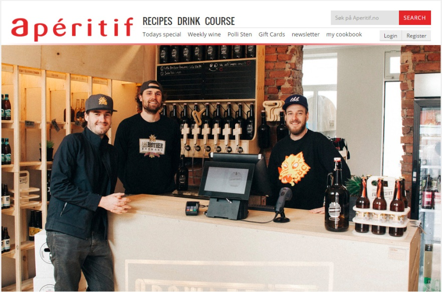 Aperitif Article - Growleriet